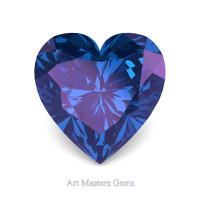 Art Masters Gems Standard 3.0 Ct Heart Alexandrite Created Gemstone HCG300-AL